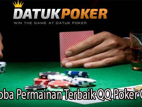 Mencoba Permainan Terbaik QQ Poker Online